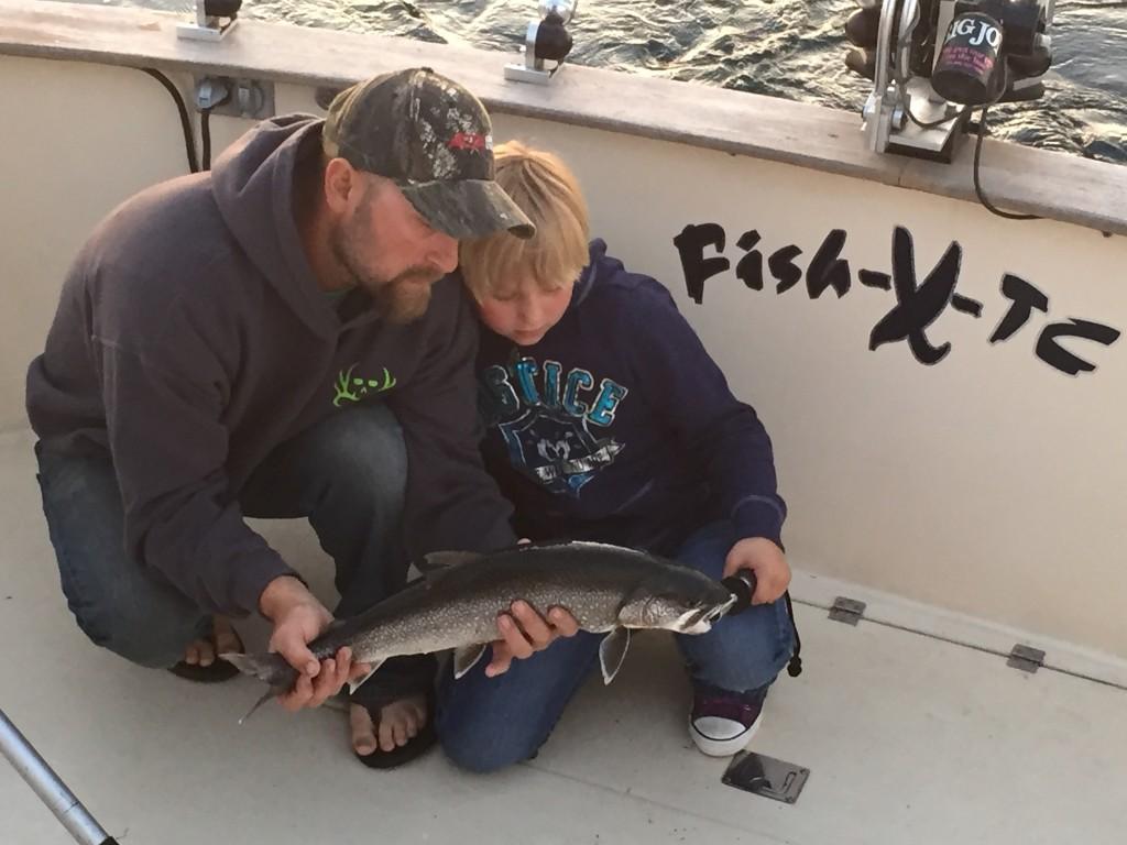 Catching Fish on Grand Traverse Bay